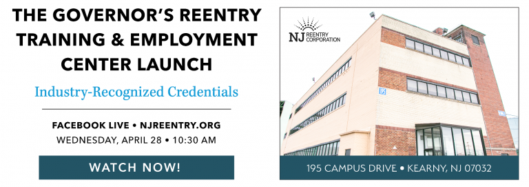 The Governors Reentry Training  Employment Center Launch